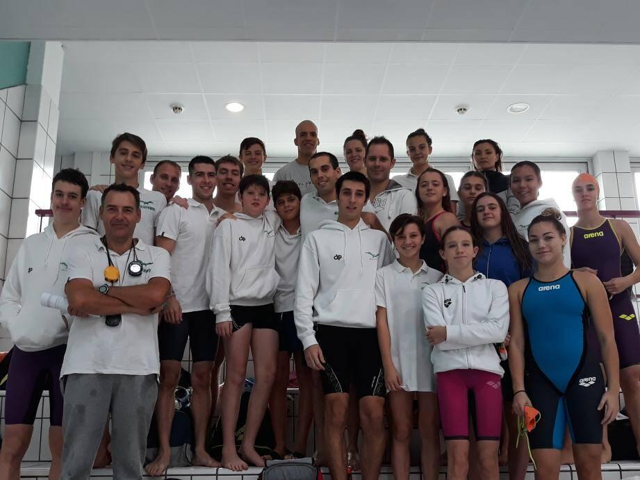 Les nageuses et nageurs de l'ACM aux interclubs. (DR)