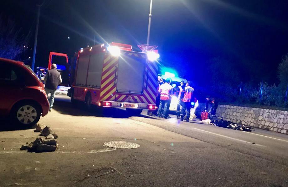 L'accident mortel a eu lieu, hier, en début de soirée.