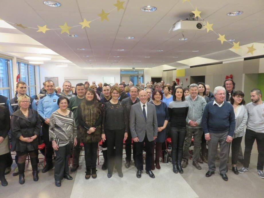 Josiane Borgogno a présenté ses vœux en présence d'Eric Ciotti, député, de Christelle d'Intorni, maire de Rimplas, de Caroline Migliore, conseillère départementale et de nombreux élus locaux.