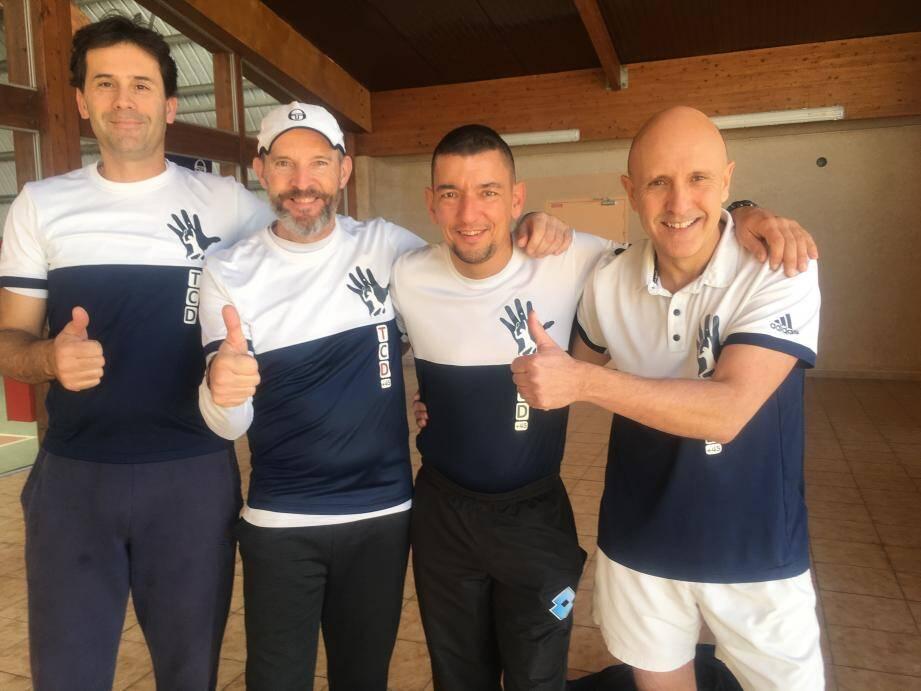 Les coéquipiers de Franck Desloye ont débuté victorieusement leur parcours.