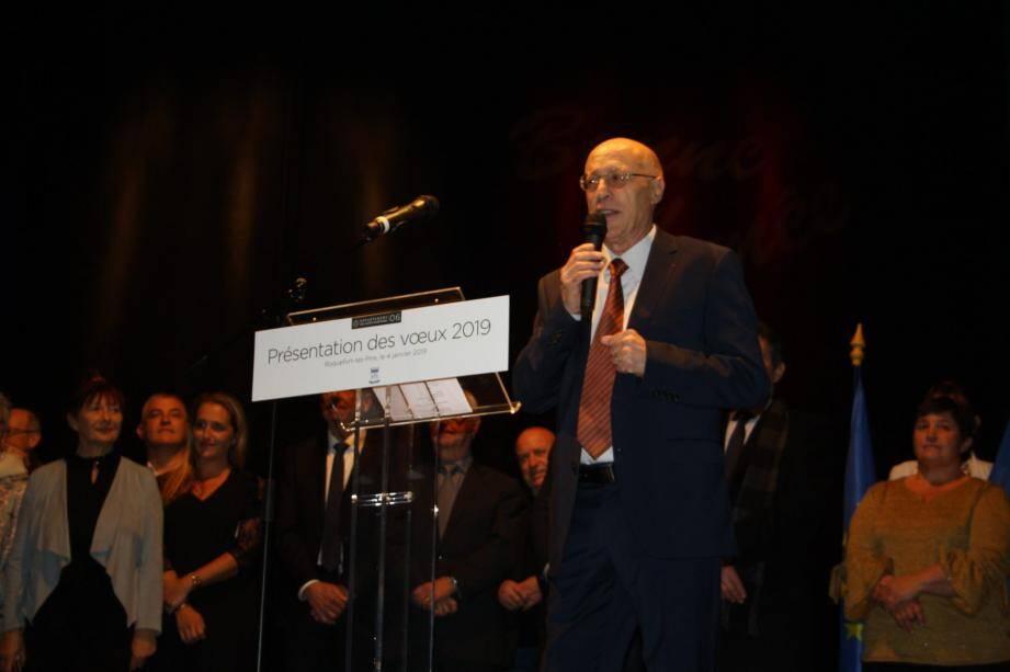 Michel Rossi a informé la population du lancement d'une consultation intitulée « Roquefort 2030 ».