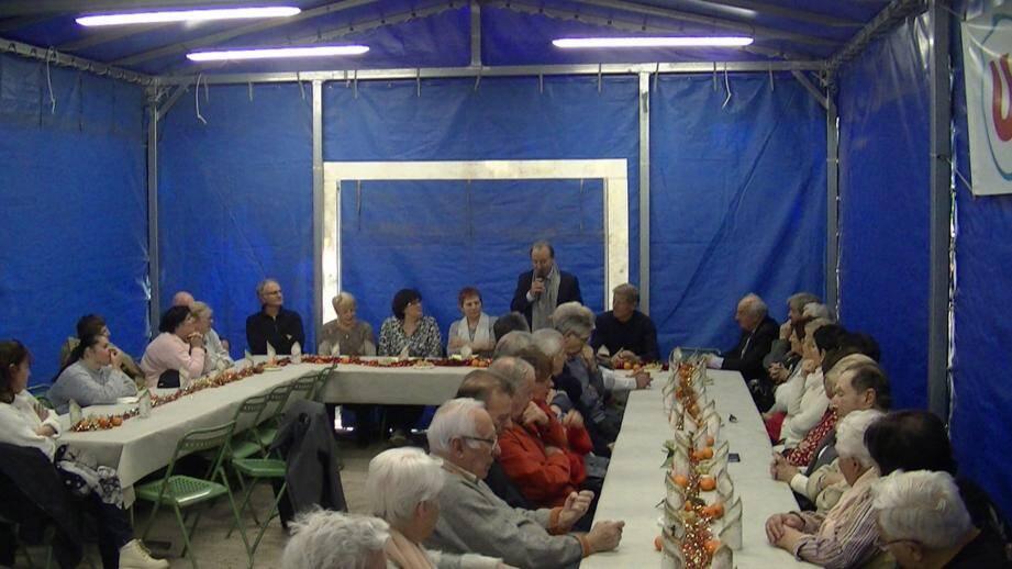 Les membres du Saint-Louis Club ont commencé l'année sous le signe de la convivialité.(DR)