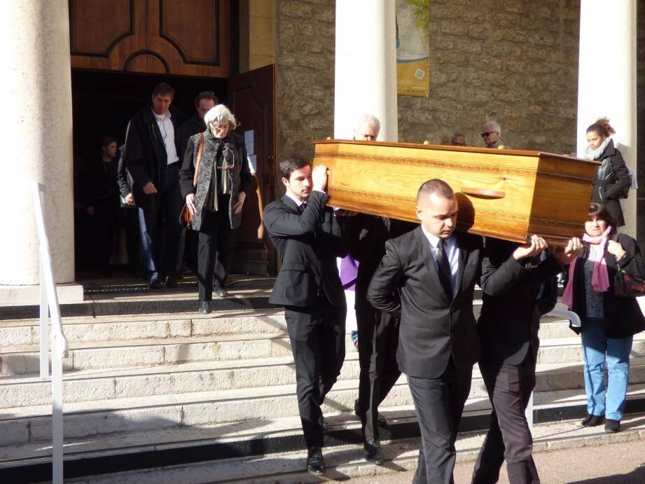 Les obsèques du fondateur du Nice Volley-ball et ex-international français, se sont tenues hier, à Nice, en l'église Saint-Paul.