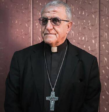 Monseigneur Youssif Mirkis, archevêque chaldéen catholique de Kirkouk et Souleymanieh en Irak.(DR)
