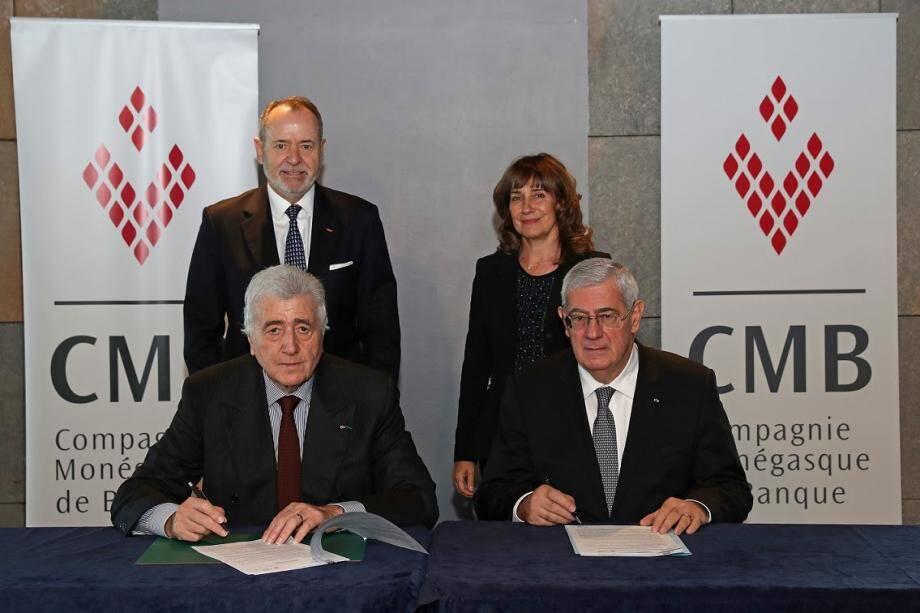 Étienne Franzi et Henri Fissore ont renouvelé leur partenariat.(DR)