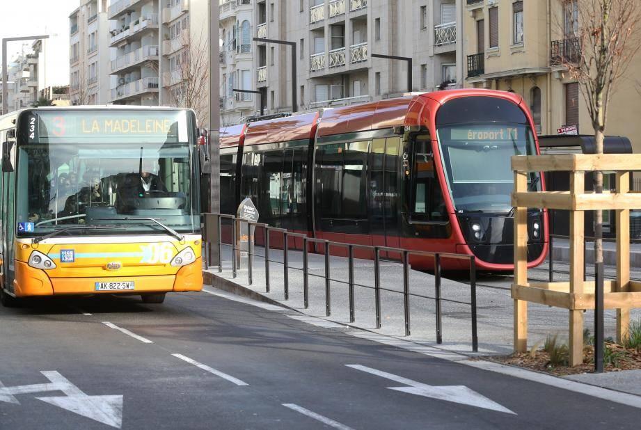L'arrivée de la ligne 2 du tram a marqué une étape dans le futur déploiement du réseau tram-bus.