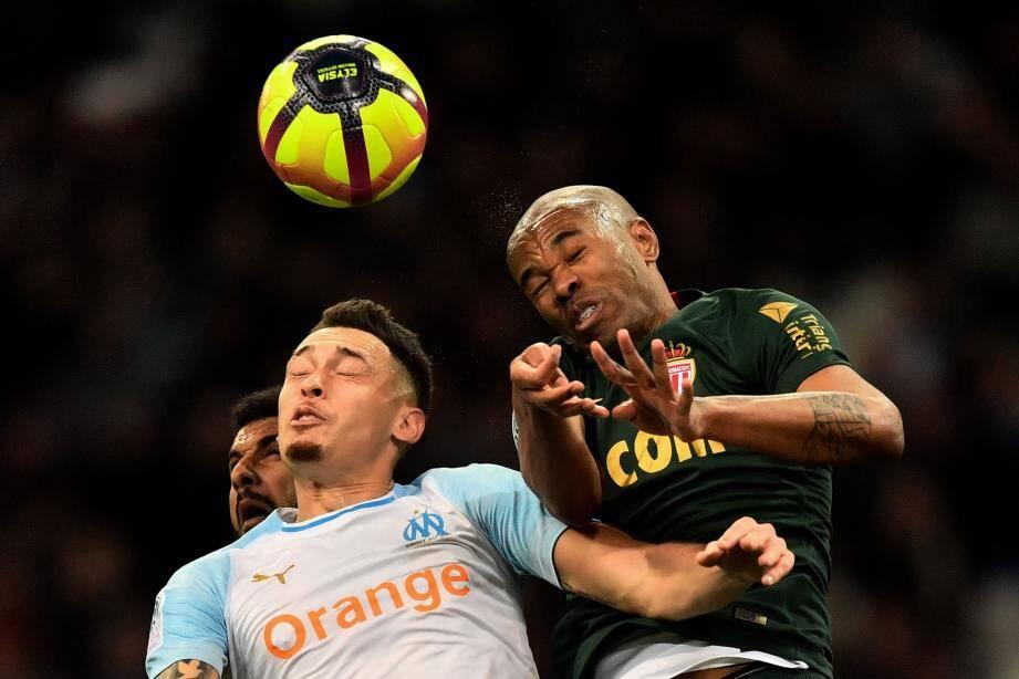 Ocampos - Naldo : âpre duel.