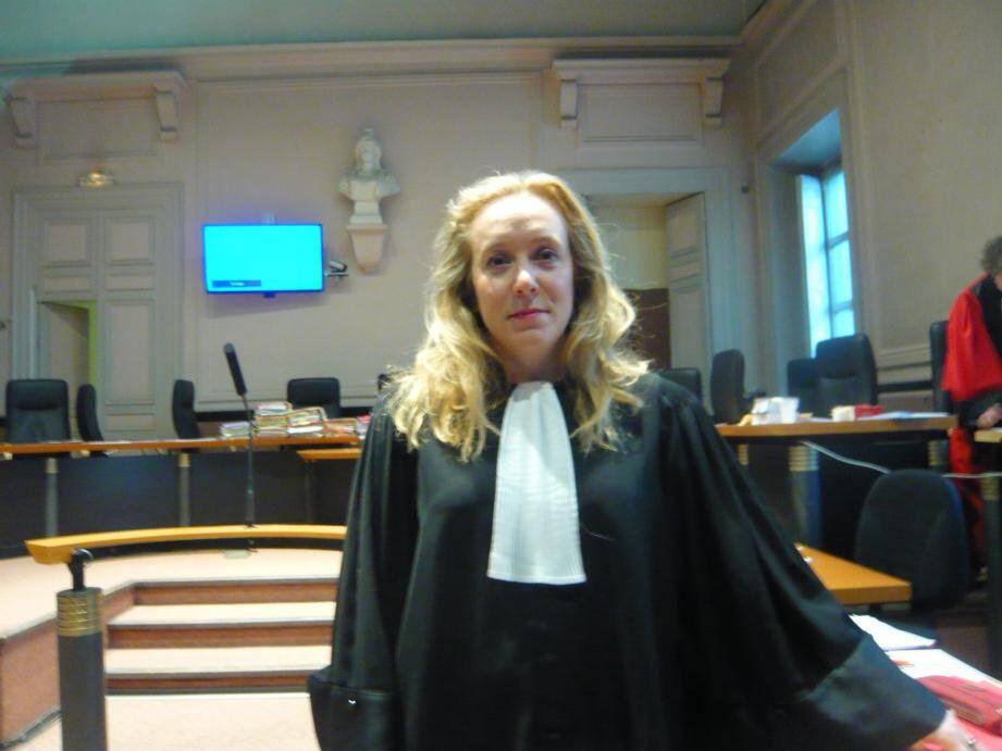 Me Stéphanie Braganti a exprimé le point de vue des parties civiles.(DR)