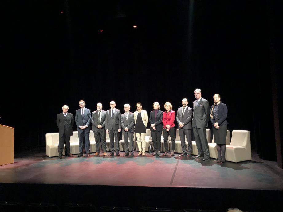 La présentation du Conseil du Patrimoine a eu lieu ce jeudi, au Théâtre des Variétés.