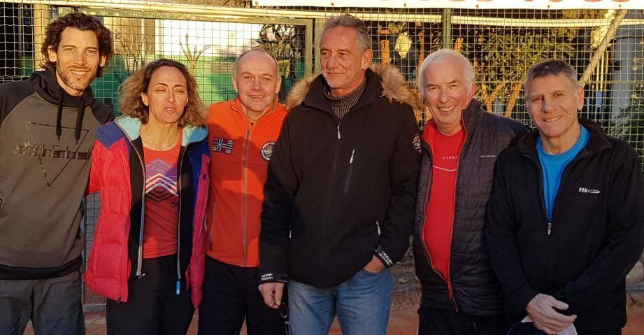 Le bureau de la nouvelle équipe du Tennis club du littoral veut faire plus et mieux.