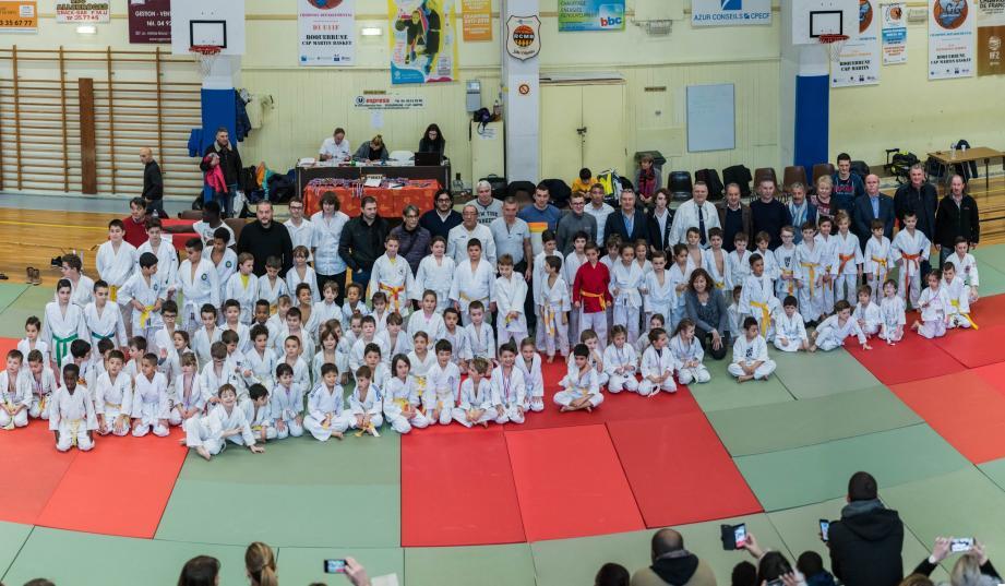 Des jeunes de 4 à 13 ans réunis dimanche au gymnase Valgelata-Fasiolo.