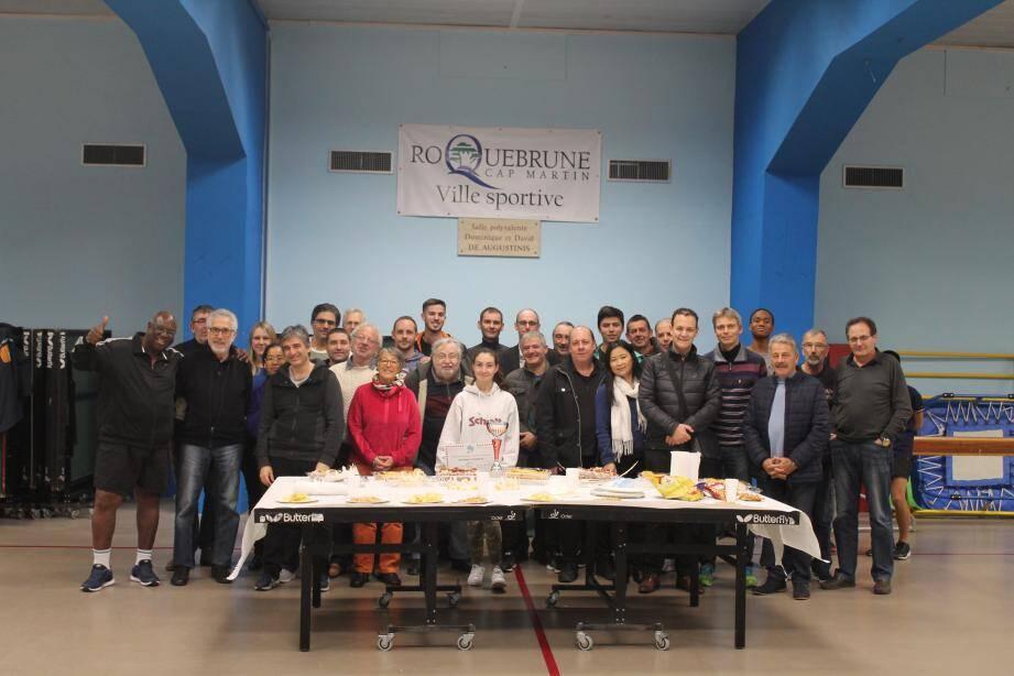 Les membres du Stella Sport. (DR)