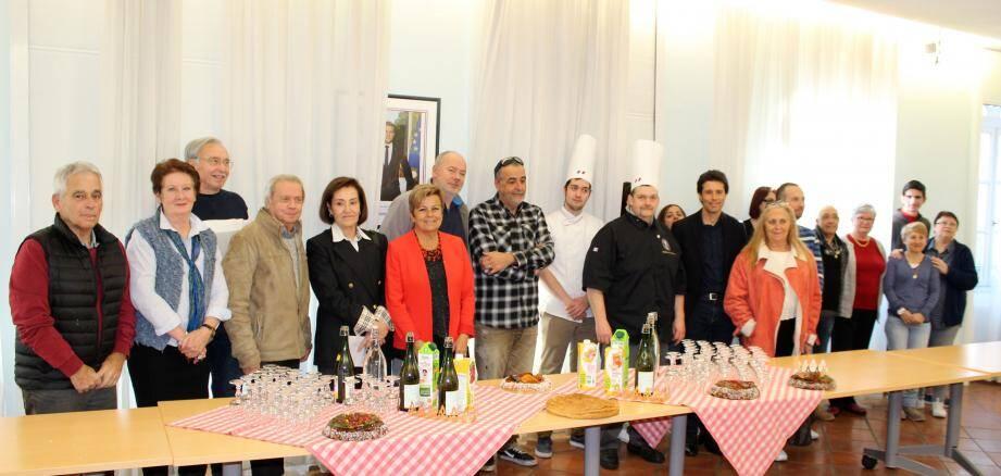 Les maîtres boulangers mouansois ont été félicités pour la qualité de leur produits.