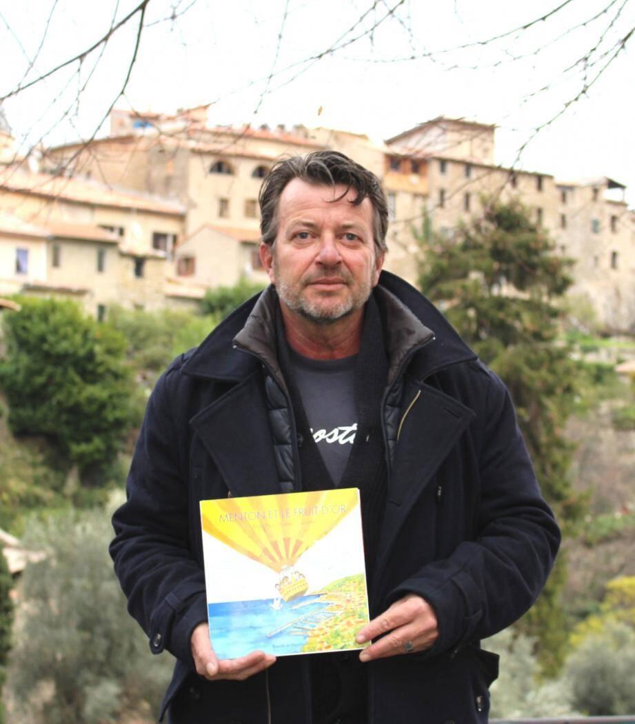 Alain Plas l'auteur gorbarin est de retour avec un nouveau conte.