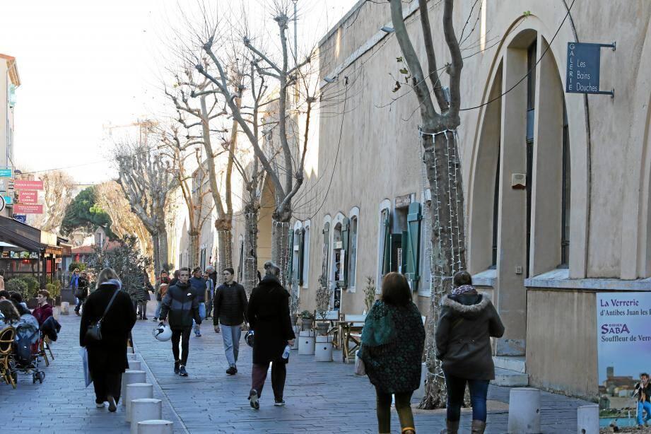 Les casemates du boulevard d'Aguillon sont attribués à des artistes qui ont répondu à un appel d'offres et ont été soigneusement sélectionnés.(Photo Eric Ottino