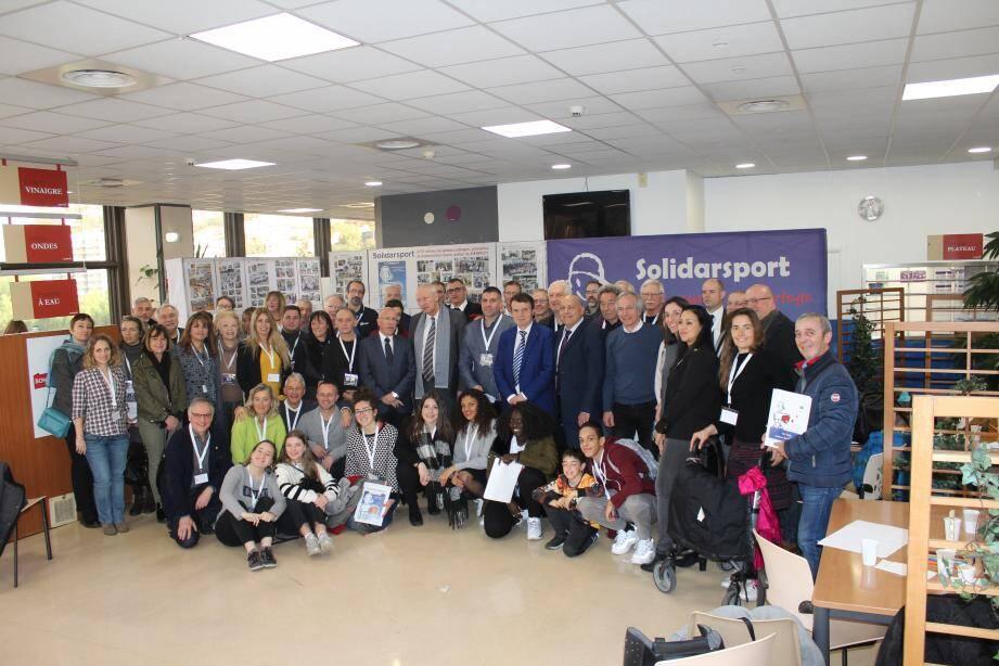 Les assises de Solidasport ont permis d'échanger autour des actions menées par l'association.(DR)