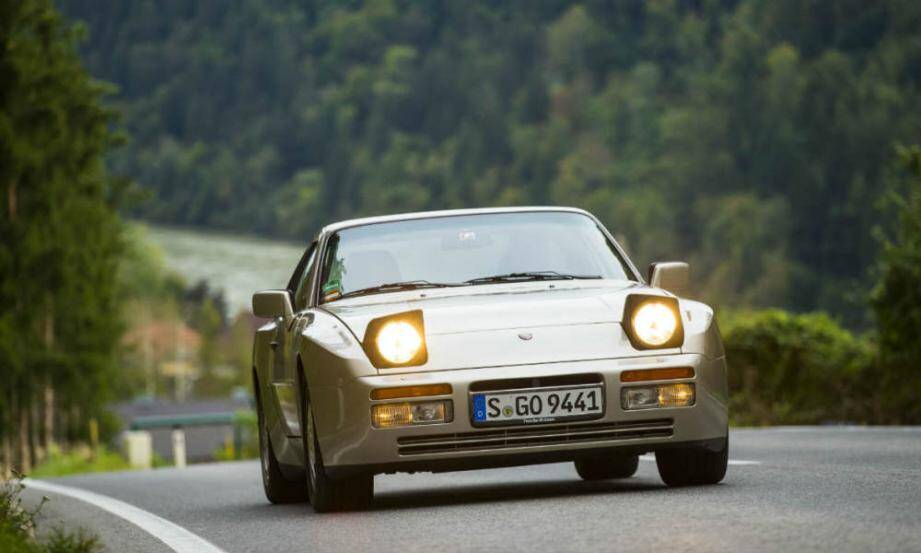 Image d'illustration - une Porshe 944 Turbo.