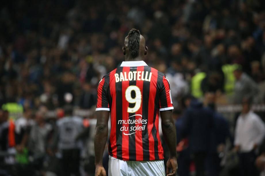 Balotelli n'a pas marqué cette saison pour Nice.