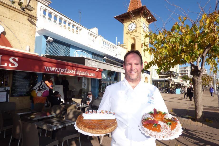 Cette année, la boulangerie « Jamais » de Cagnes-sur-Mer a décidé de faire des galettes des rois solidaires au profit des soldats du feu.