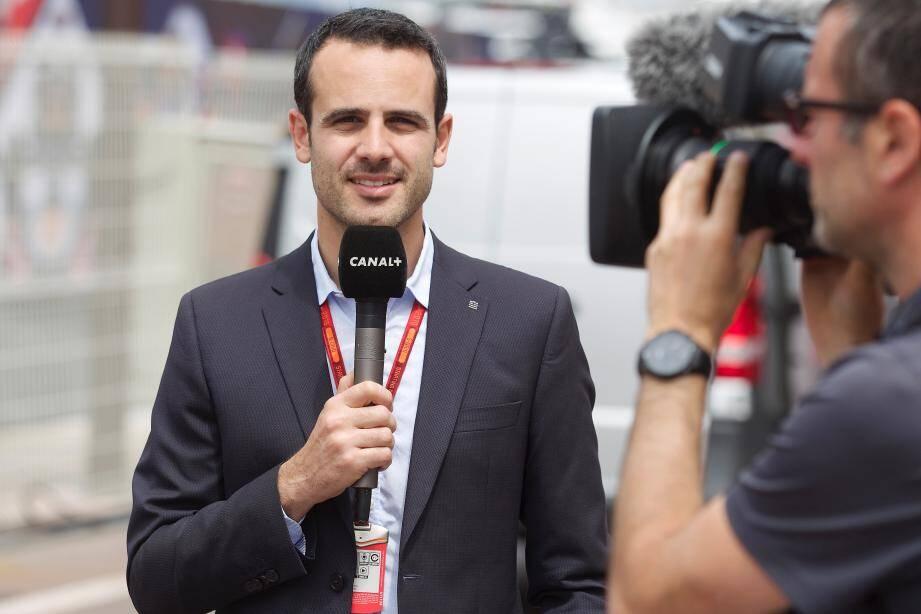 Laurent Dupin, né à Monaco et habitué à couvrir le Grand Prix de Formule 1, suit le rallye pour Canal+.