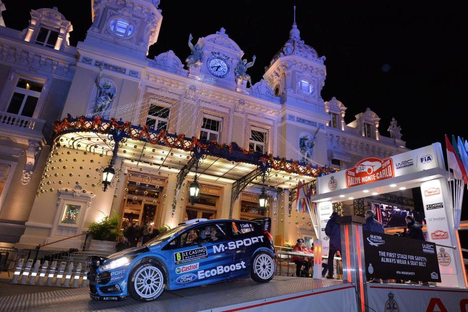 Exceptionnellement, le départ du Rallye Monte Carlo sera donné de Gap et non de la place du Casino, ce jeudi soir.