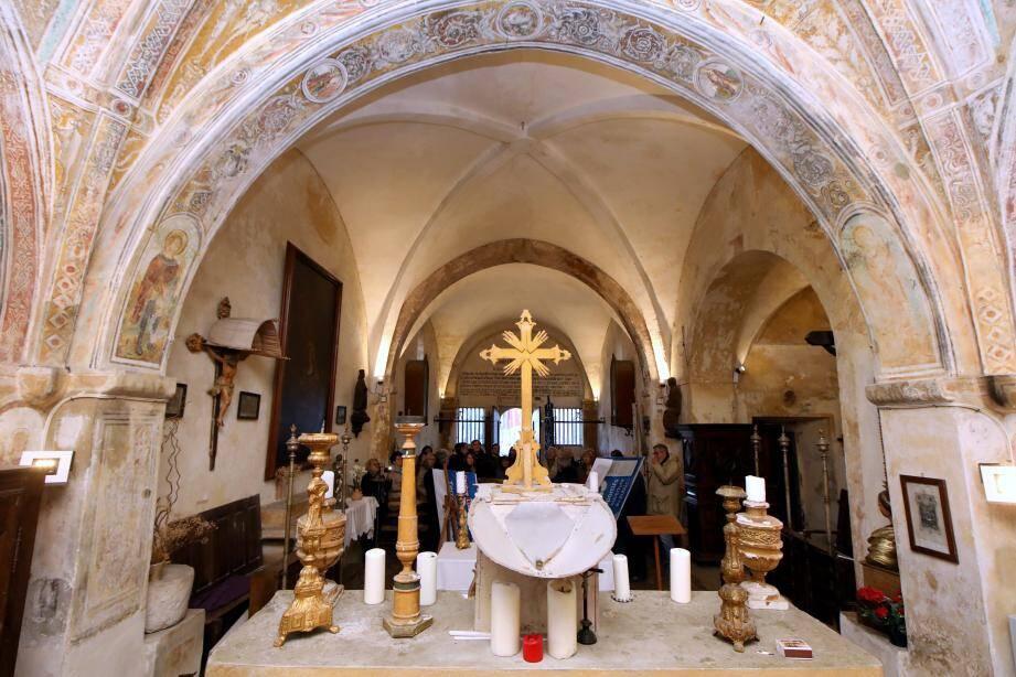 Notre-Dame de Protection avant les travaux de rénovation.