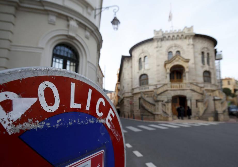 Le palais de justice de Monaco.