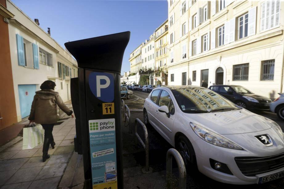 Vous paierez pas votre stationnement mardi das les rues de Nice... si vous trouvez une place.