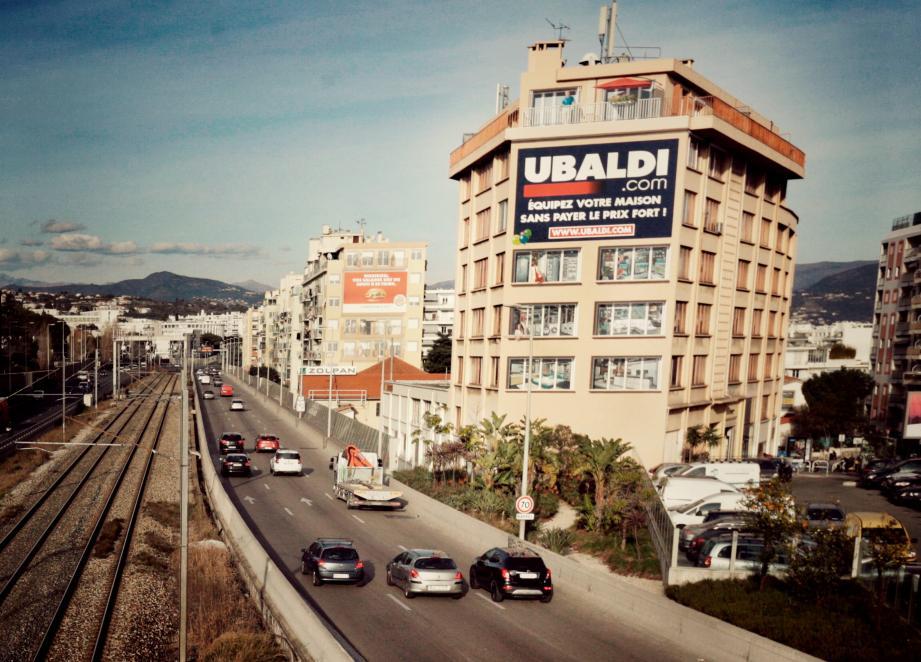 La voie Mathis est une artère peu accidentogène de Nice. Et pourtant...