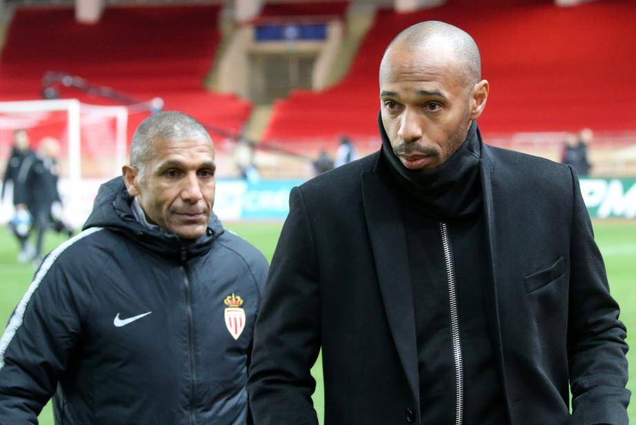 Franck Passi et  Thierry Henry