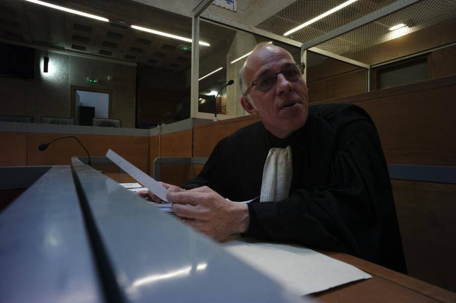 Me Patrick Giovannangeli a plaidé l'acquittement au bénéfice du doute.