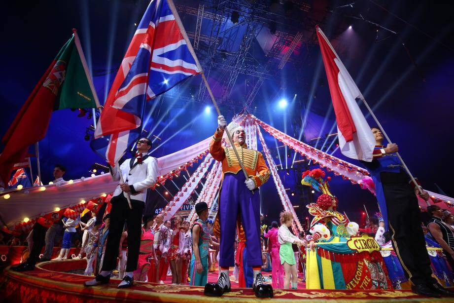 Tous les artistes du festival international du cirque de Monte-Carlo ont paradé ce jeudi soir.