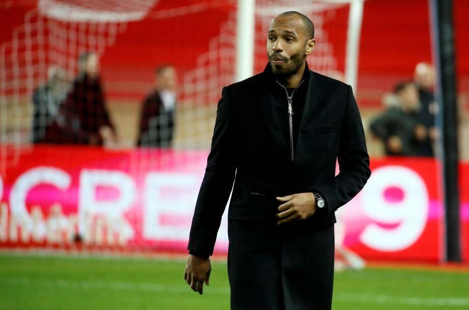 """""""Marseille, c'est trois points à prendre et ça sera difficile"""", estime Thierry Henry, coach de l'AS Monaco."""