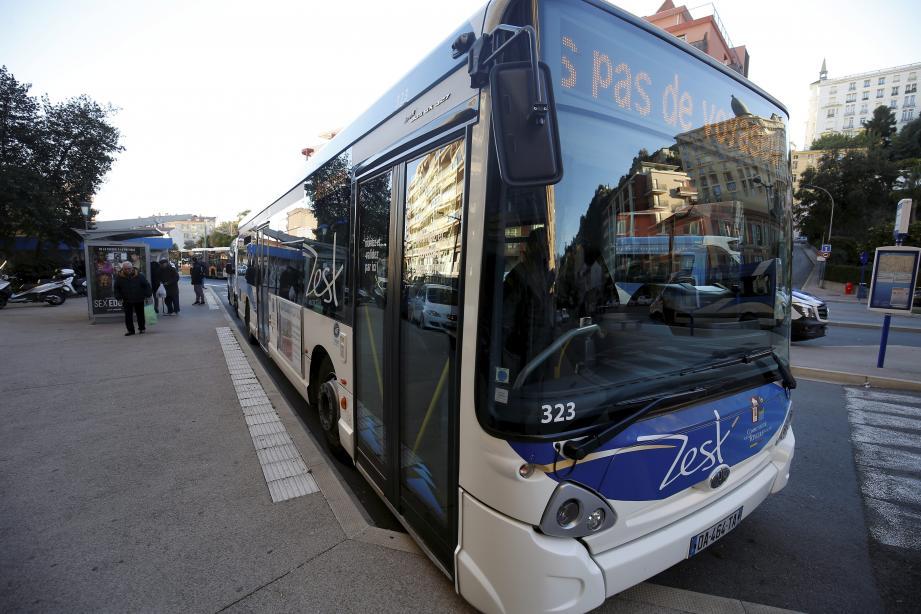 Image d'illustration d'un bus du réseau Zest.