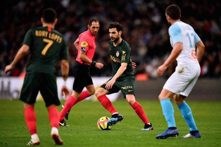 Cesc Fabregas ne jouera pas contre l'OGC Nice.