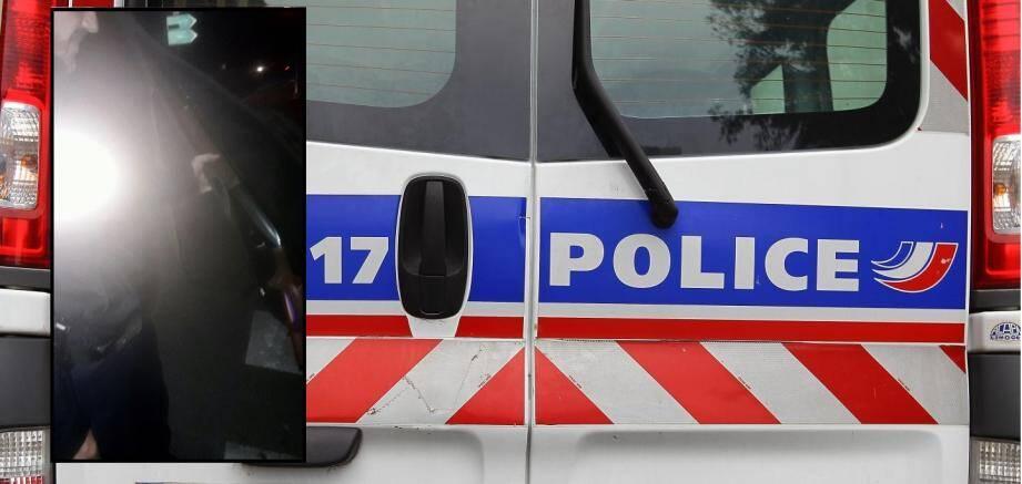 Un fusil a été saisi, par la police, dans le véhicule de l'individu interpellé