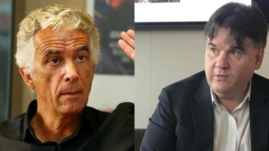 Jean-Pierre Rivère et Paul Conway.