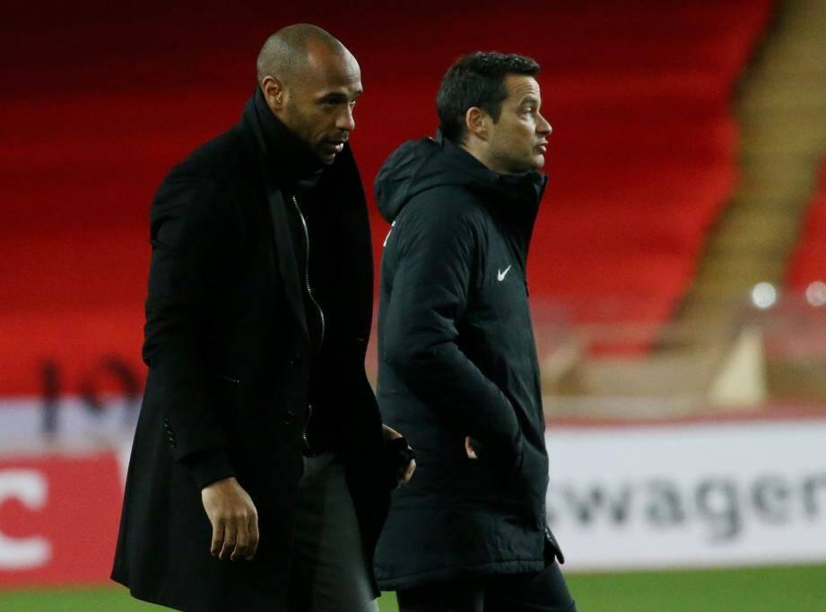 L'équipe entraînée par Thierry Henry a été éliminée.
