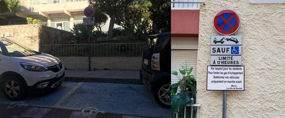Les places handicapés concernées se situent rue Allègre et rue Puits-de-Charron.