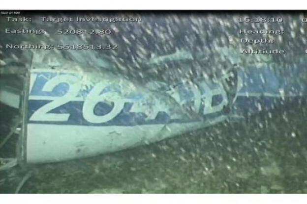 Les images du véhicule commandé à distance qui a retrouvé l'épave de l'avion d'Emiliano Sala.