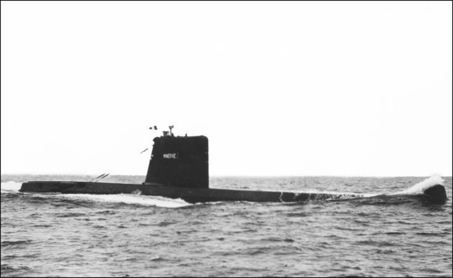 Sous-marin Minerve