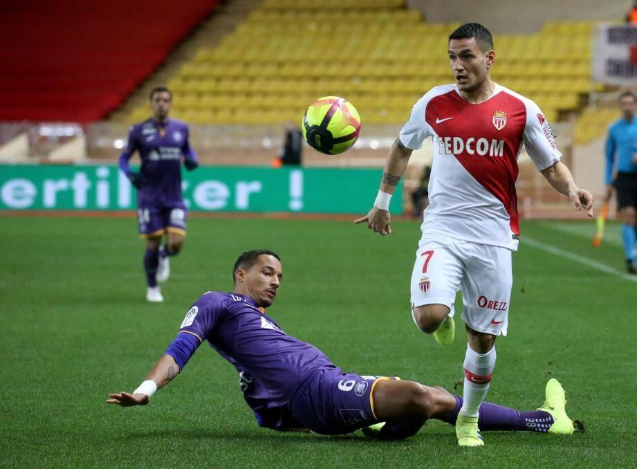 La saison dernière, Rony Lopes avait marqué le but de la victoire contre Lyon, à 10 contre 11 .