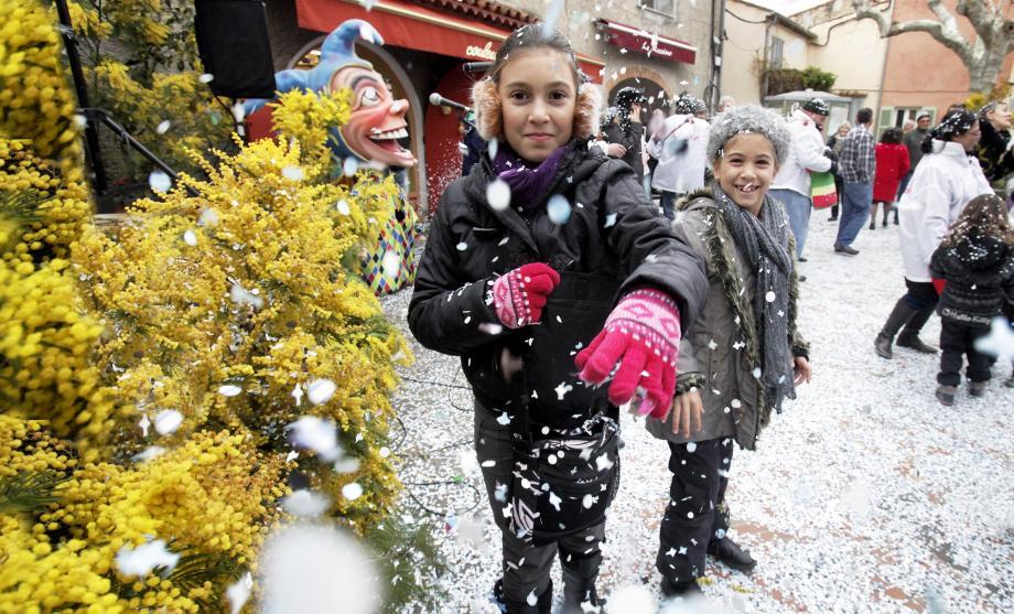 Le village va se parer de mimosa et de confettis ce dimanche.