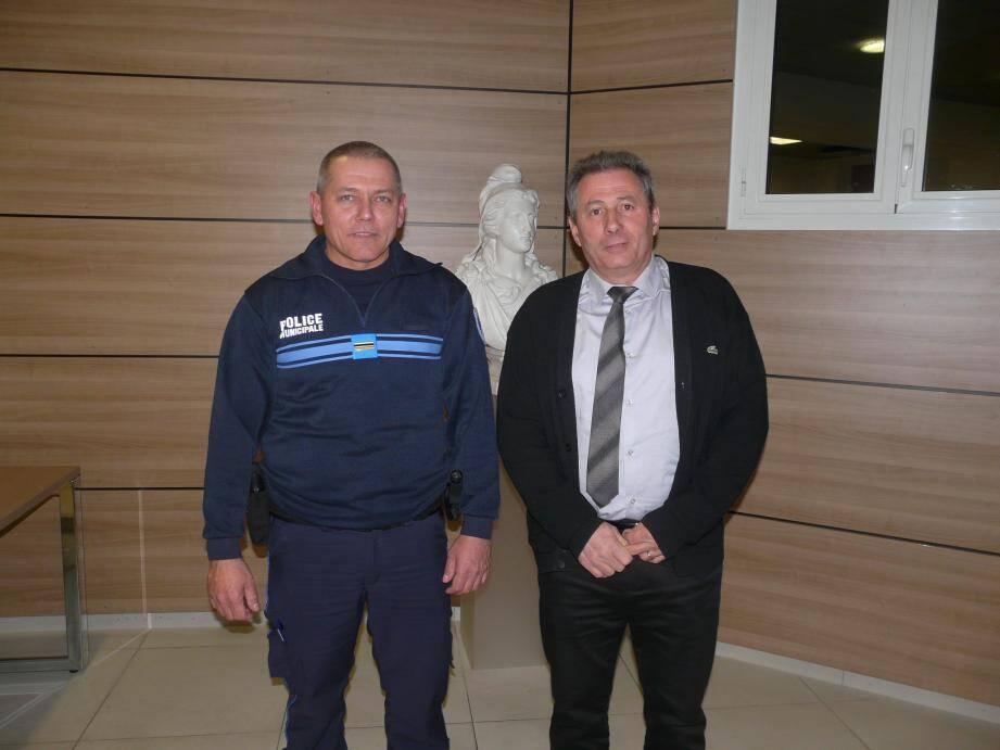 Laurent Stephan  et Patrick Martinelli