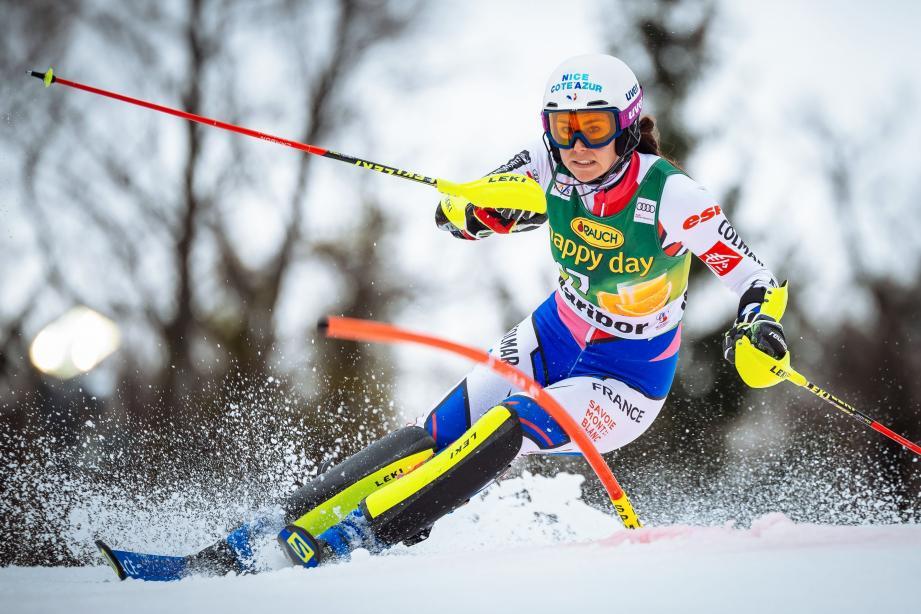 Nastasia Noens (ci-dessus) et Mathieu Faivre (à d.) font partie de la sélection tricolore.