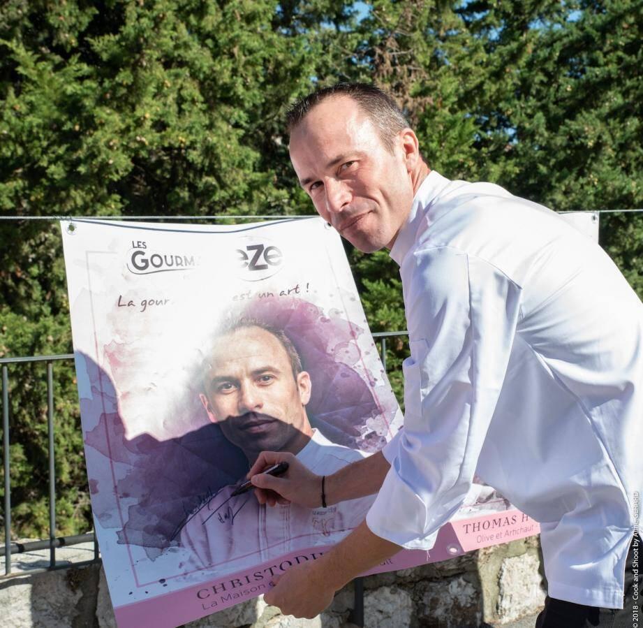 Le chef Christophe Hay, deux étoiles Michelin, a d'ores et déjà promis de revenir.