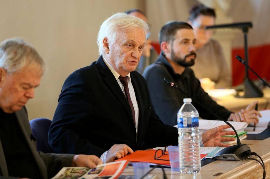 Paul Boudoube, maire de Puget-sur-Argens.