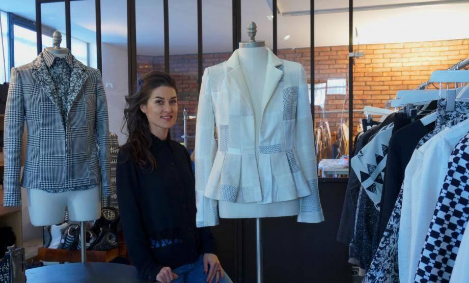 Emilie Temps, créatrice de mode.