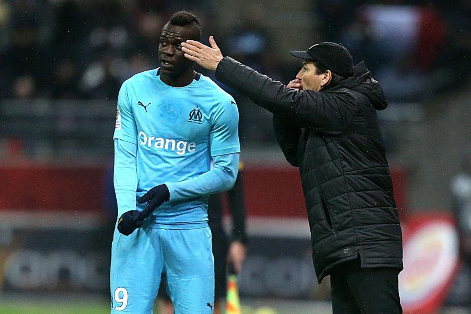 Avec Balotelli, l'OM a des arguments offensifs. Reste à le prouver... (Ph. AFP)