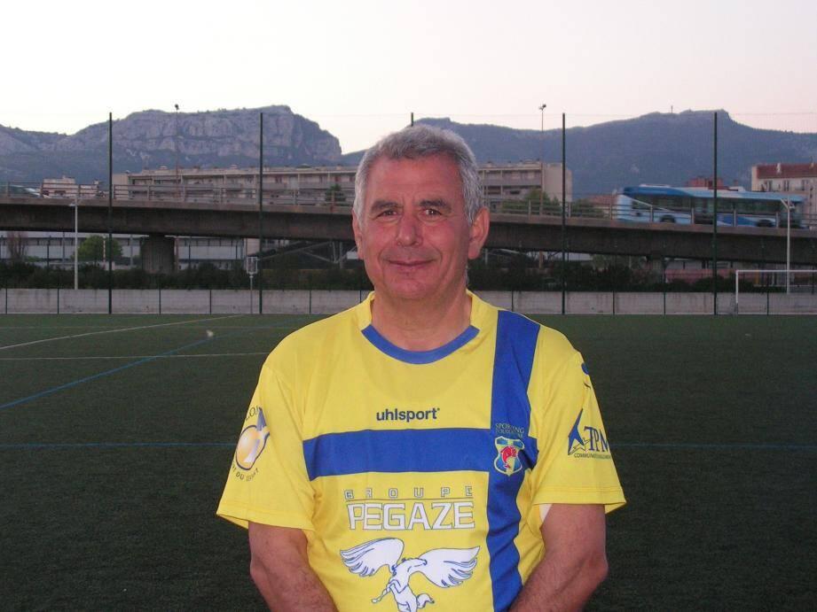 L'entraîneur toulonnais apprécie le point arraché à Carqueiranne-La Crau en costaud (0-0). (Ph. DR)